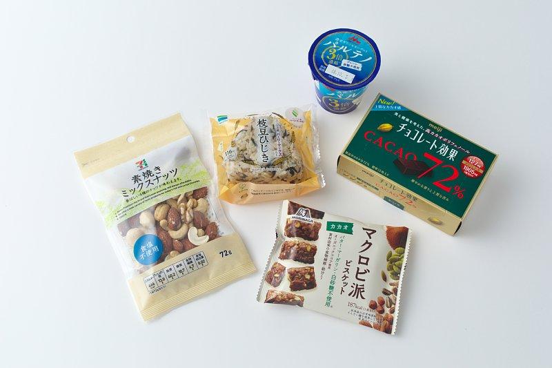 管理栄養士がすすめるコンビニ食5商品