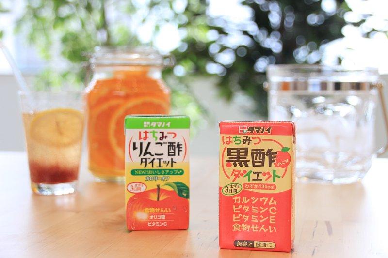 『はちみつ黒酢ダイエット』と『はちみつりんご酢ダイエット』
