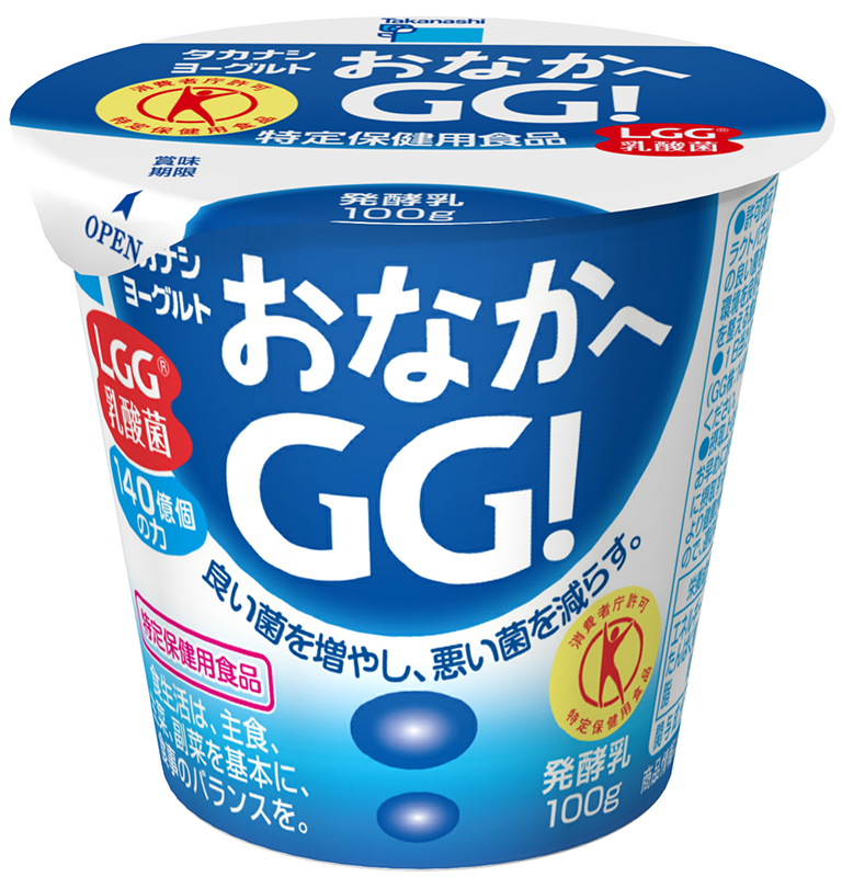 タカナシヨーグルトおなかへGG!/タカナシ乳業の商品写真