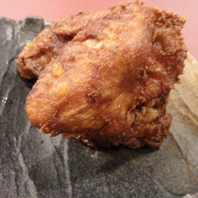『宮のから揚げ かぶと屋』の鶏の半身
