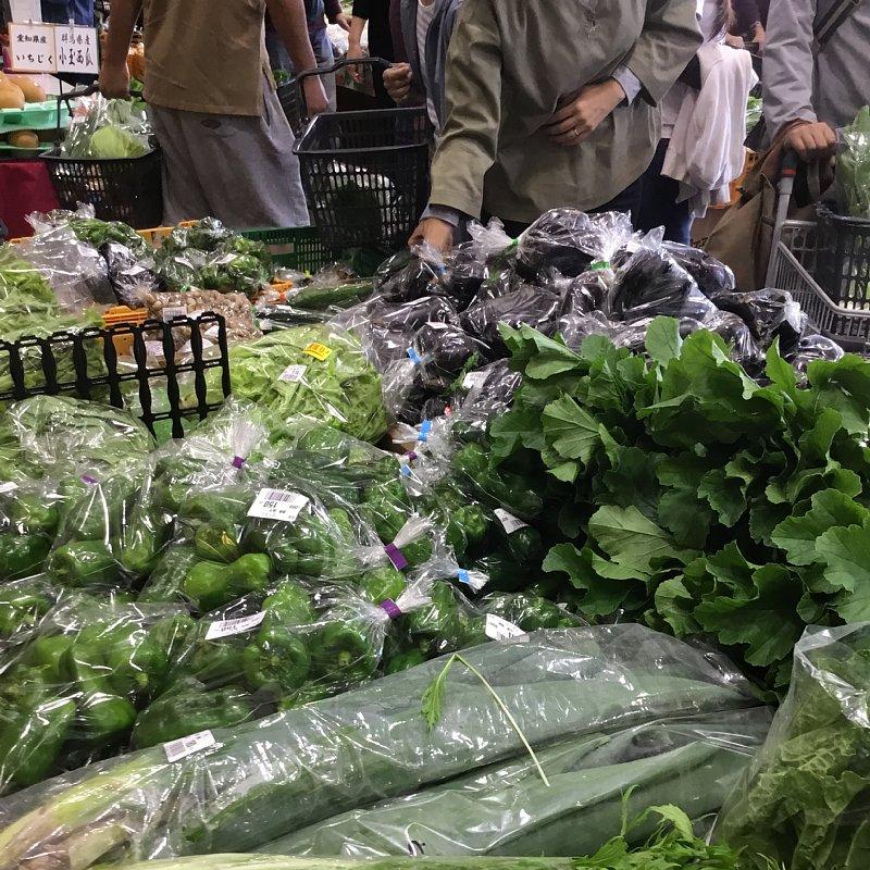 『道の駅 八王子 滝山』の野菜売り場