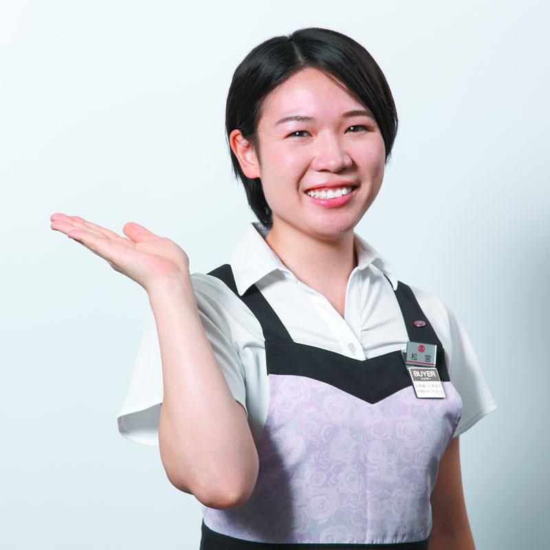 日本橋高島屋和洋菓子担当バイヤーの松宮香織さん
