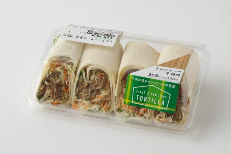 『トルティーヤ牛焼肉』(ファミリーマート)398円(税込)