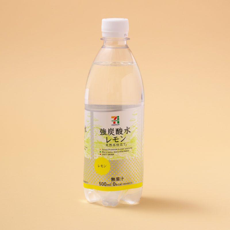 セブン−イレブンの強炭酸水レモン