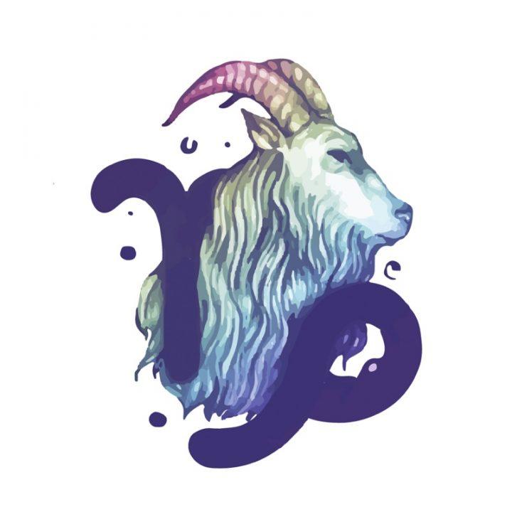 山羊座のイラスト