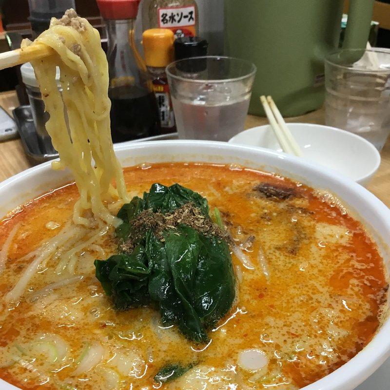 『長栄軒』の担々麺