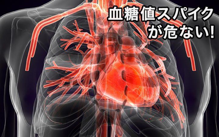 血糖値スパイクのイメージ画像
