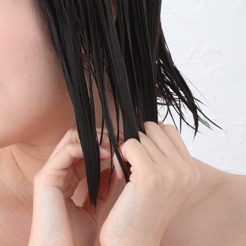 『Michio Nozawa ジュレ・プレミアム シャンプー』 『Michio Nozawa ジュレ・プレミアム トリートメント』を使って洗った髪