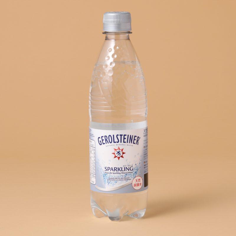 ポッカサッポロのゲロルシュタイナー500mlペットボトル