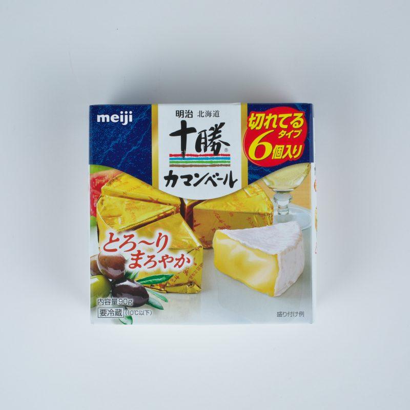 明治 北海道十勝カマンベールチーズ切れてるタイプ