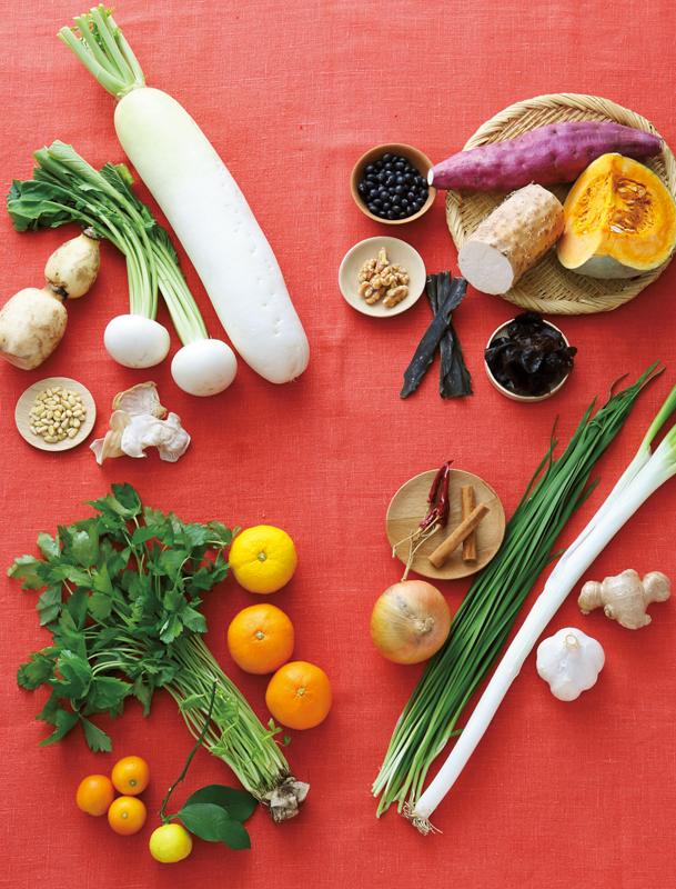 冬に食べると良い野菜の写真