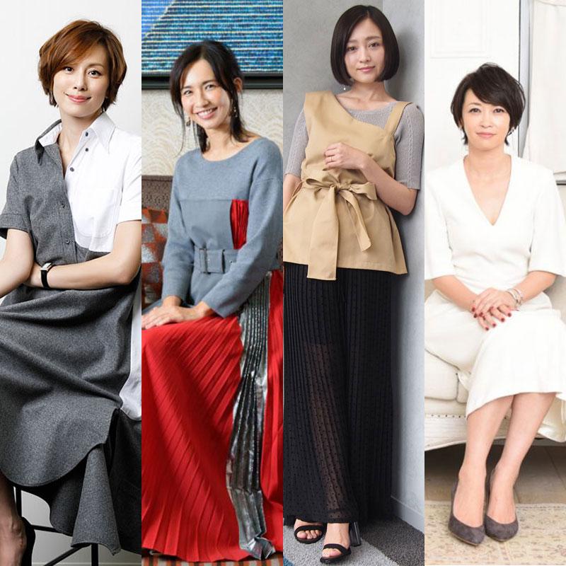 米倉涼子、優木まおみ、安達祐実、辺見えみり