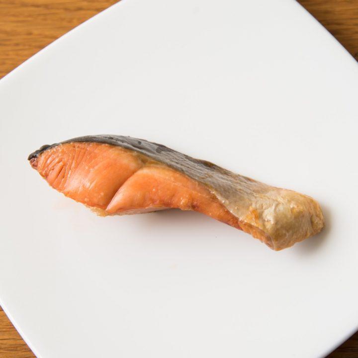 熱風フライヤー調理した鮭