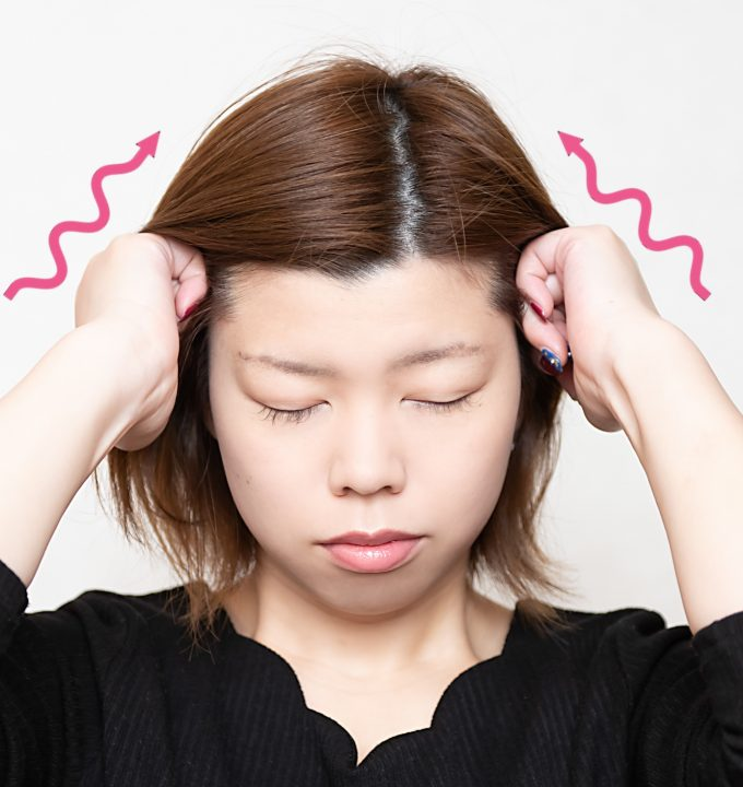 頭皮マッサージのイメージ写真