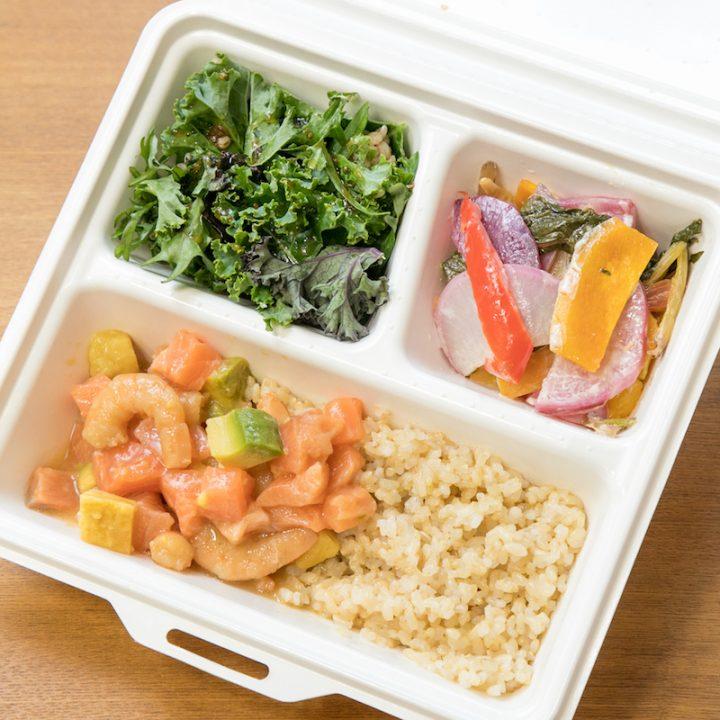 TORADELIの玄米丼プレート