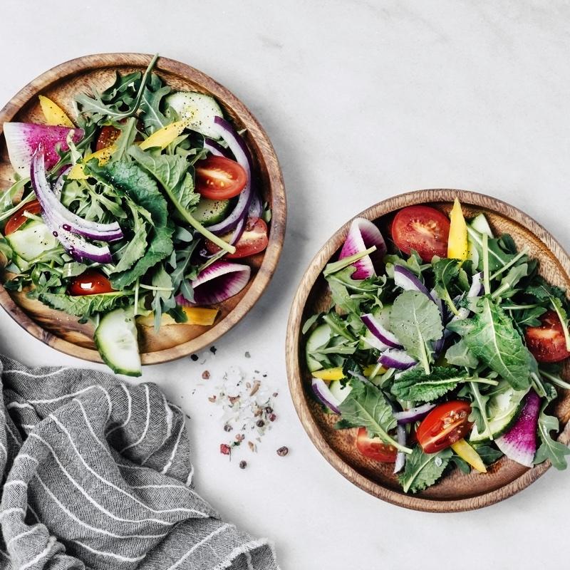 2種のサラダ