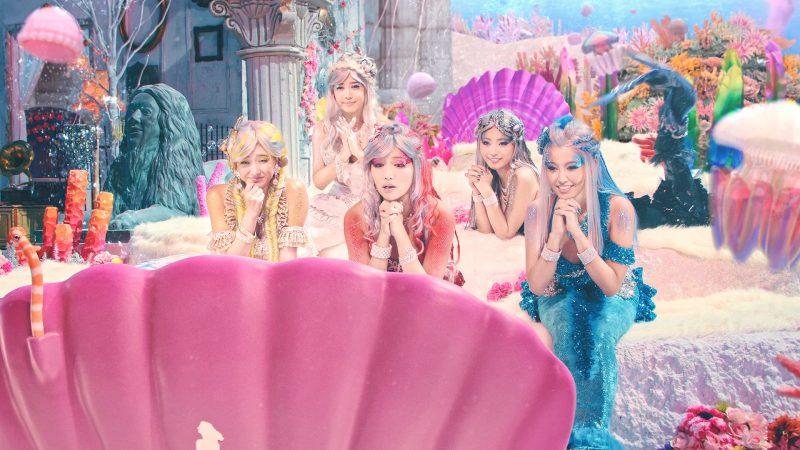 「姫たちだってLet's BOAT RACE」第3話でCYBERJAPAN DANCERS扮する人魚の姉妹たち