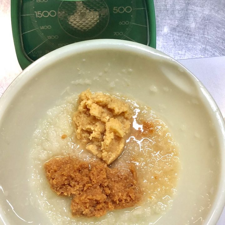 味噌玉作り1