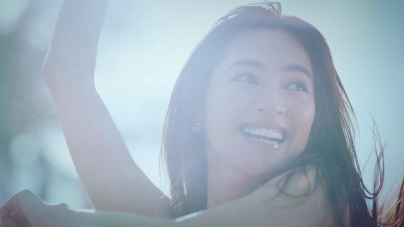 「コーセー」の日やけ止め『スポーツ ビューティ』新CMに出演する中村アン