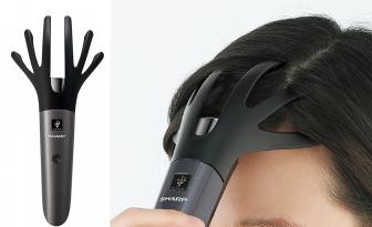シャープの頭皮ケア機「プラズマクラスタースカルプエステ」はプロの手の動きを再現!
