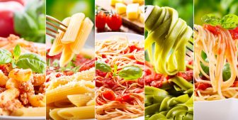 ダイエット中の外食ランチ おすすめはスパゲティ(パスタ)、種類は?
