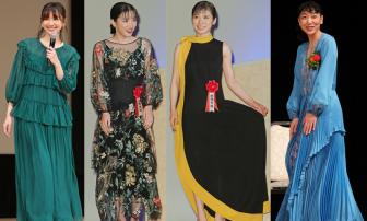 永野芽郁、安藤サクラ、井川遥ら女優7人の最旬ドレス姿【ファッションチェック】