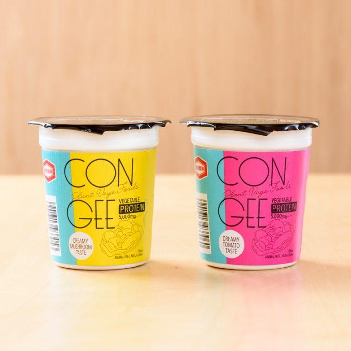『CONGEE』きのこ味とトマト味