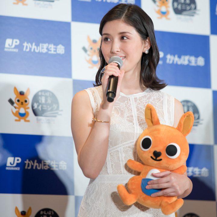 「漢方ダイニング」イベントに登壇した橋本マナミ