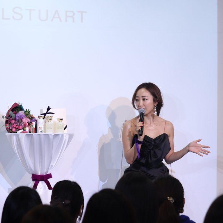 「神崎恵×Flora Notis JILL STUART」スペシャルトークイベントの様子