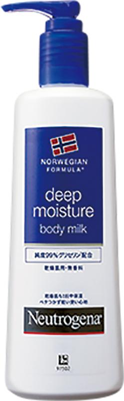 ニュートロジーナ ディープモイスチャー ボディミルクの商品写真