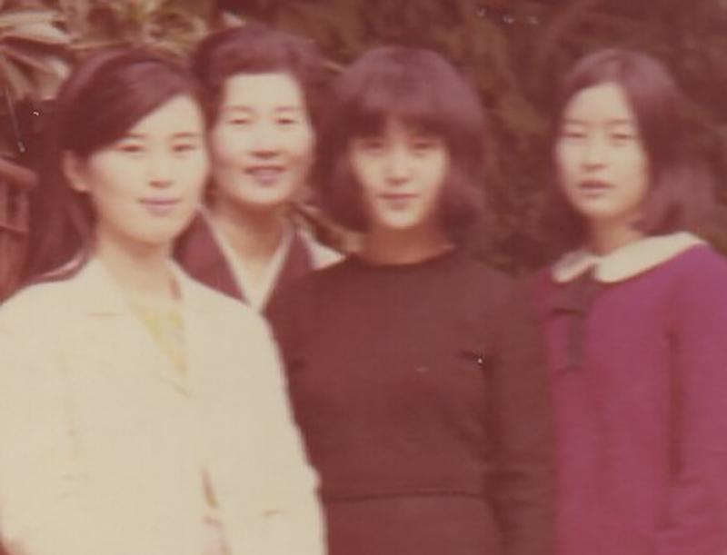 上野さんが18才のときの写真