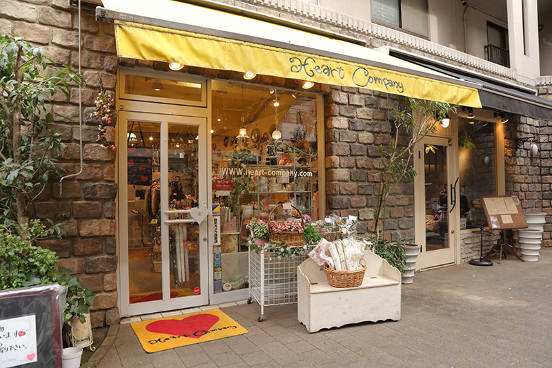 上野さんが経営する雑貨店の写真