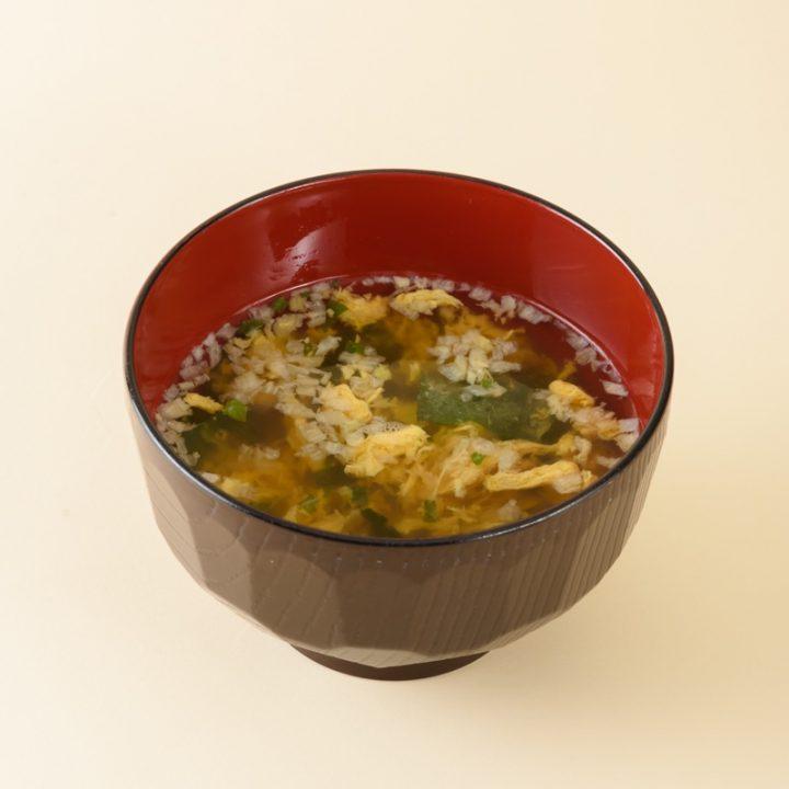 かき玉子の味噌汁