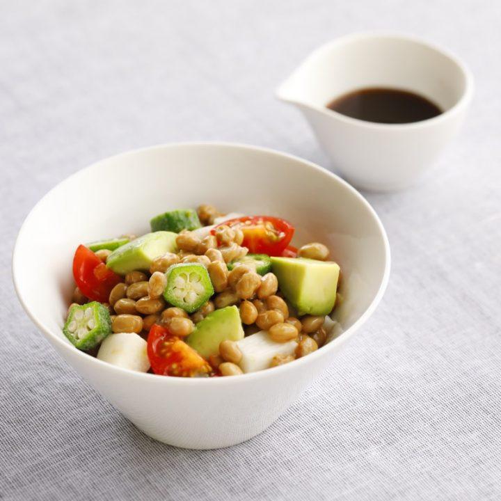 サラダ風納豆
