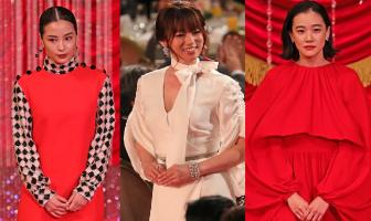 日本アカデミー賞を彩った豪華女優8人の美しきドレス姿を【ファッションチェック】