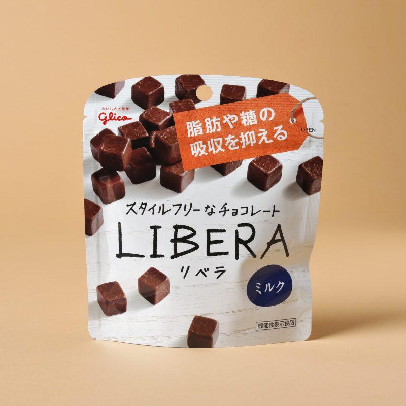グリコのLIBERA〈ミルク〉