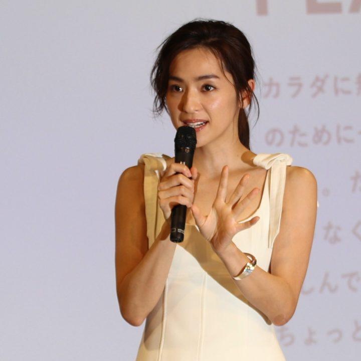 「FiNC」イベントに登壇した中村アン