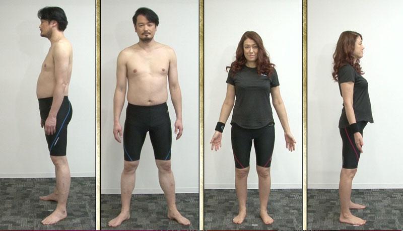 LiLiCoさん&純烈・小田井涼平さん夫婦の全身画像4枚