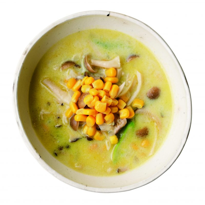 コーン豆乳スープ