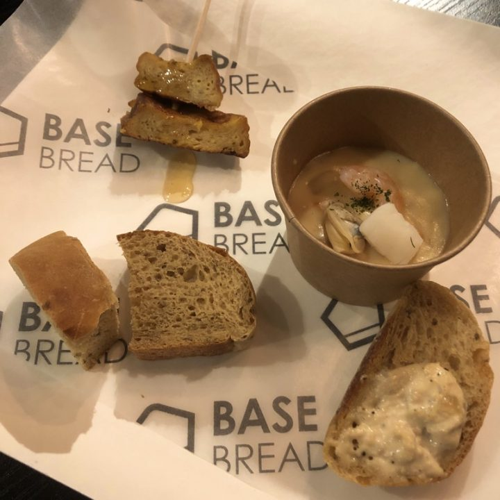 BASE BREAD試食メニュー