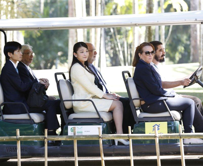 リオデジャネイロ植物園で日本庭園を見学された眞子さま