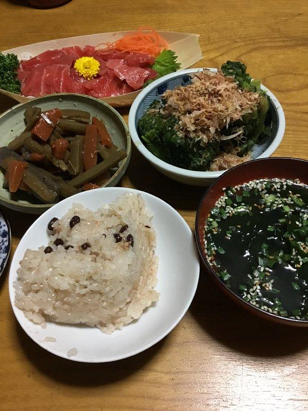 オバ記者の母が作った夕食メニュー