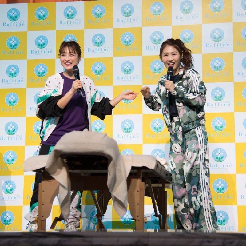 鈴木奈々さん、西野未姫さん