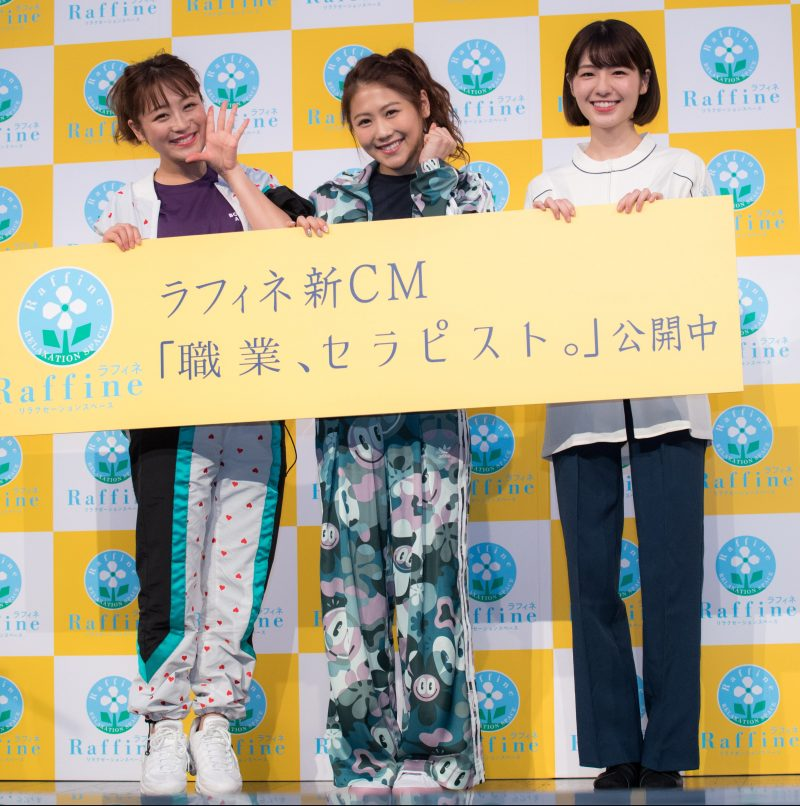 鈴木奈々さん、西野未姫さん、糸原美波さん(劇団4ドル50セント所属)