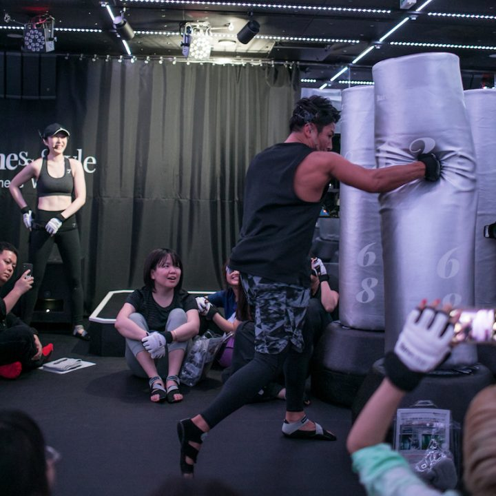 魔裟斗さんによるデモストレーション