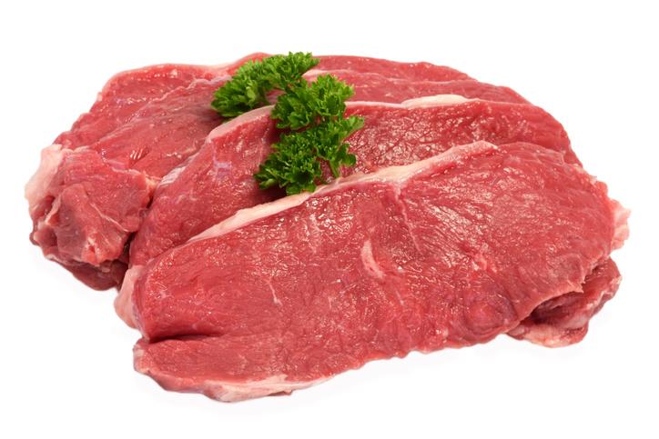 ロース肉が並んでいる