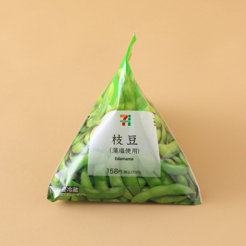 セブン−イレブンの枝豆(藻塩使用)