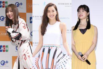 中村アンはヘルシー肌が映えるリゾートコーデ!ツヤ美女5人の【ファッションチェック】