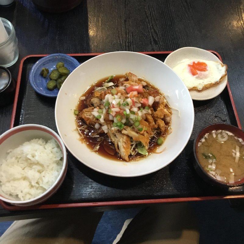 鶏肉メインの中華の定食