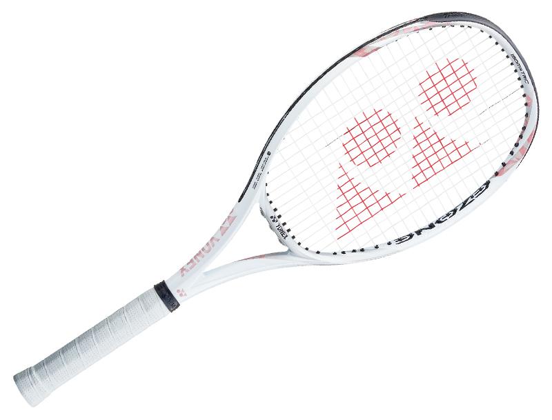 白いヨネックスのテニスラケット
